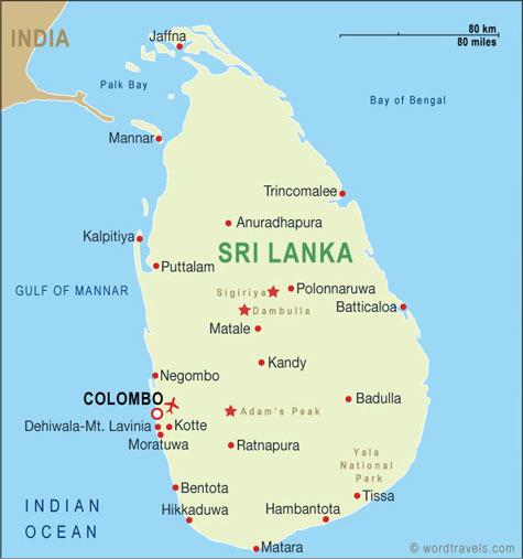 Carte Cote Ouest Sri Lanka.Sri Lanka Photos Et Conseils Pour Visiter La Perle De L