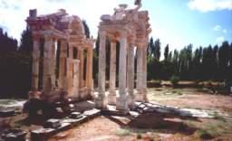 Temple d'aphrodite - Aphrodisias - Turquie